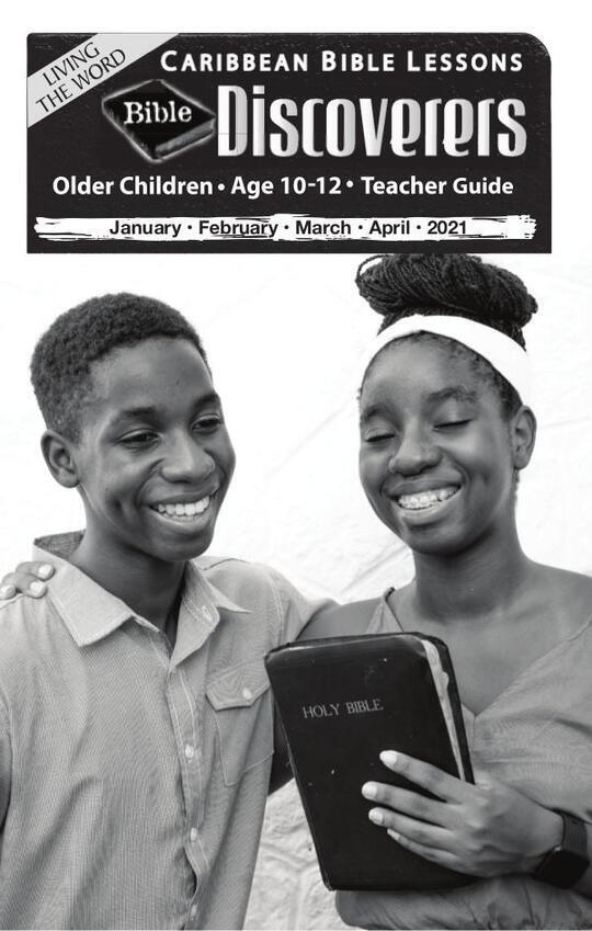 Bible Discoverers - Teacher Guide Easter Issue 2021