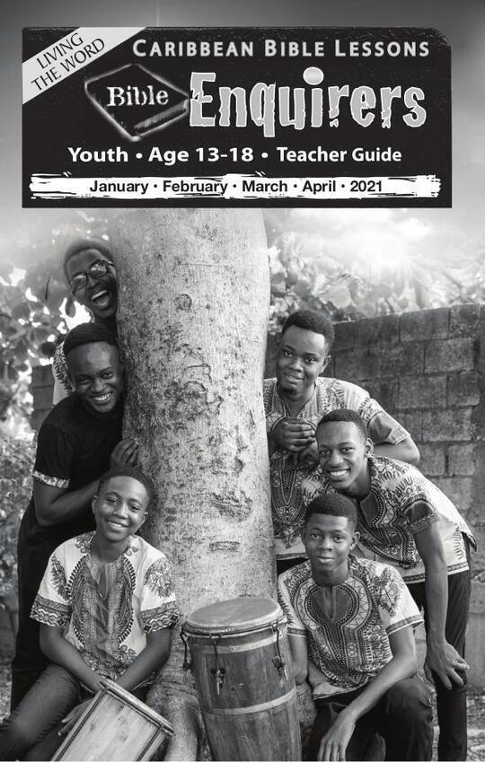 Bible Enquirers - Teacher Guide Easter Issue 2021