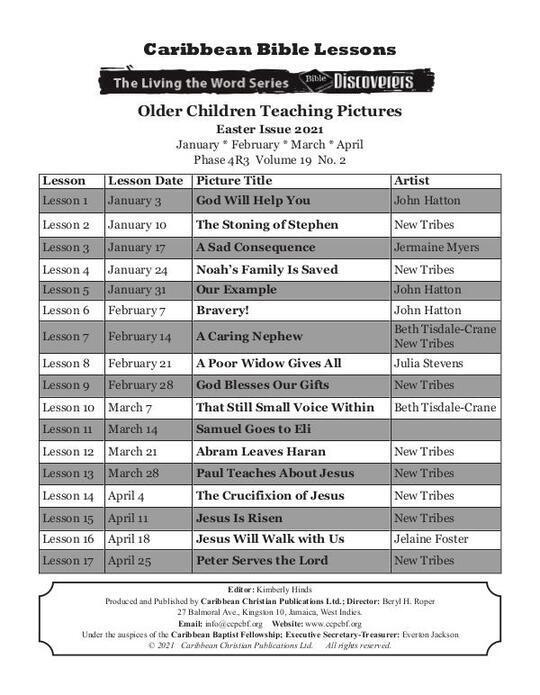 Bible Discoverers - Teaching Pictures Easter Issue 2021