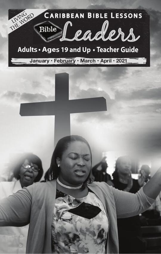 Bible Leaders - Teacher Guide Easter Issue 2021