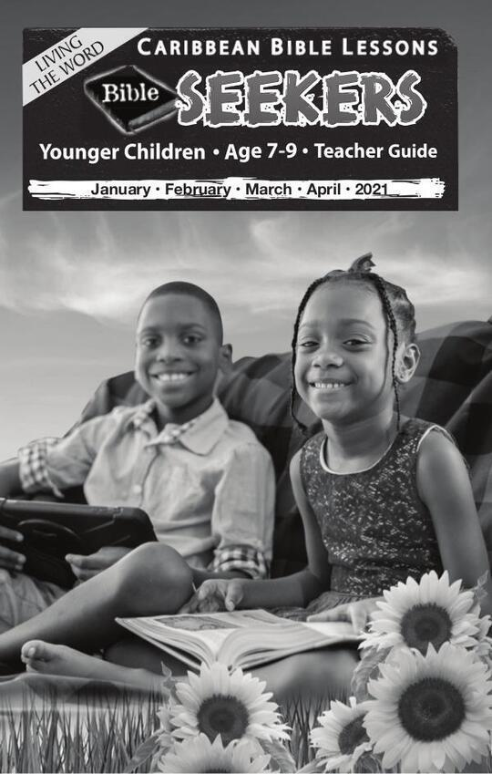 Bible Seekers - Teacher Guide Easter Issue 2021