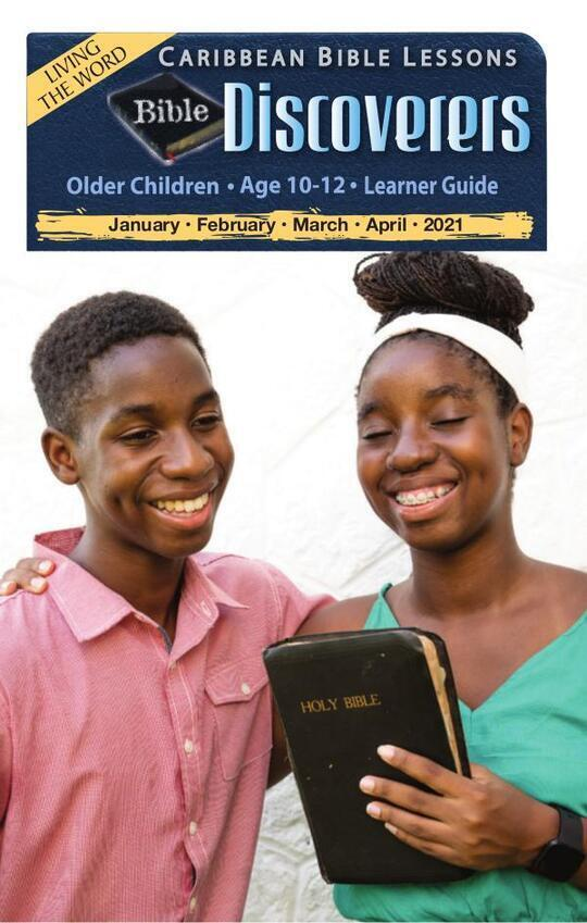Bible Discoverers - Learner Guide Easter Issue 2021