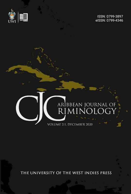 Caribbean Journal of Criminology Volume 2: 1