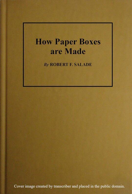 How Paper Boxes Are Made
