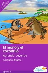 El mono y el cocodrilo