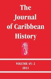 The Journal of Caribbean History Volume 45 Issue 2
