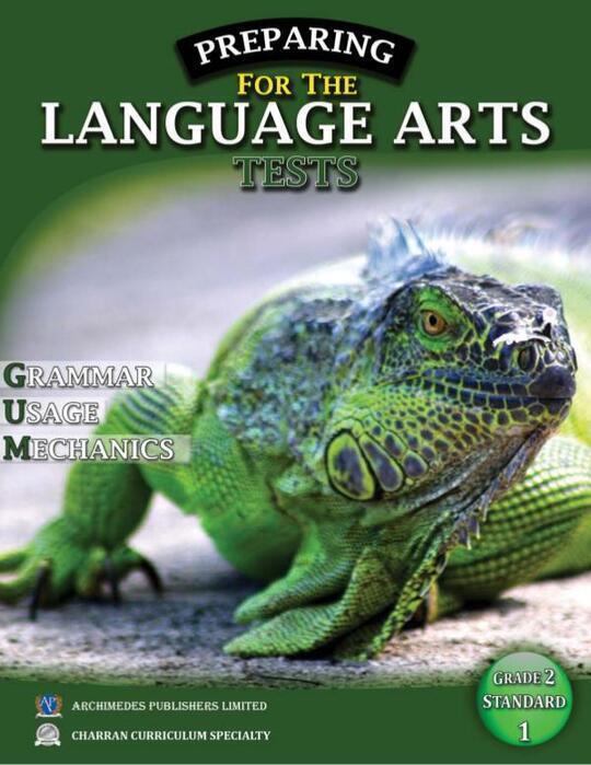 Preparing for the Language Arts Tests Grade 2