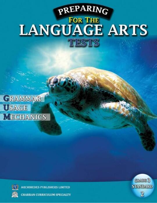 Preparing for the Language Arts Tests Grade 3