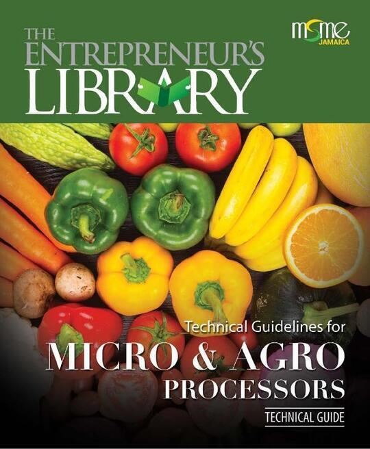 Technical Guide - Technical Guidelines for Micro & Agro Processors2021