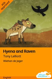 Hyena and Raven