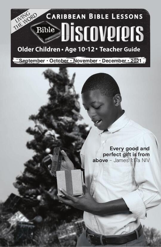 Bible Discoverers - Teacher Guide Christmas Issue 2021