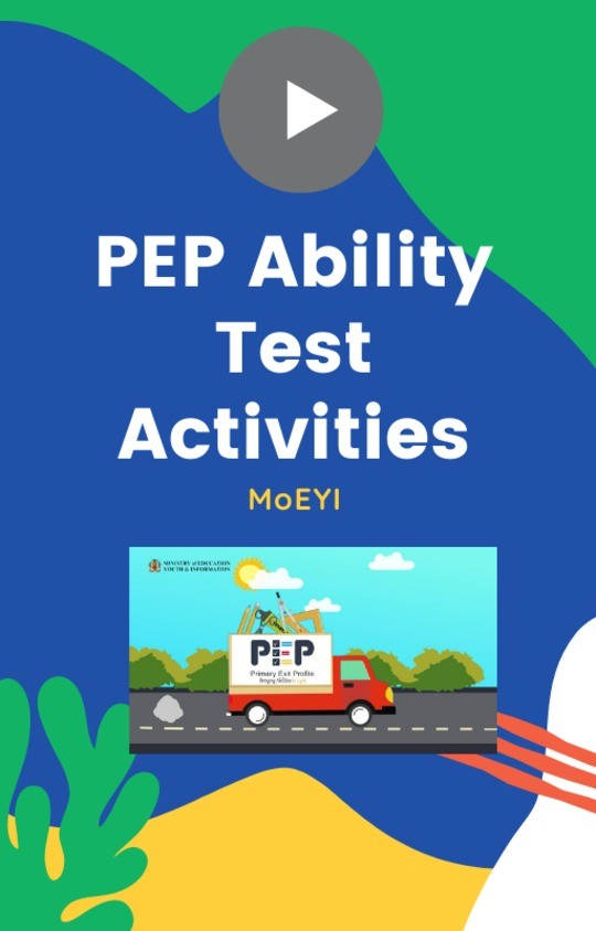 MoEYI PEP Ability Test Activities