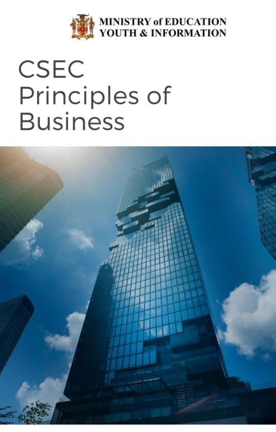 CSEC Principles of Business