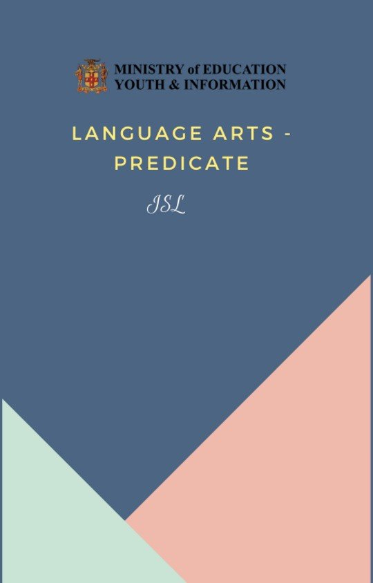 Language Arts  - Predicate