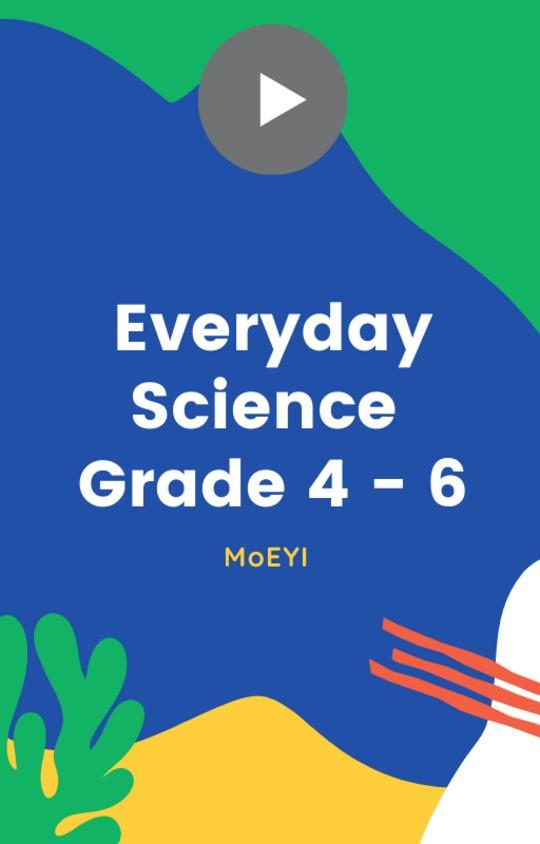 MoEYI Everyday Science  - Grade 4 - 6