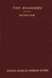 The Hoosiers: National Studies in American Letters