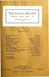 The Little Review, August 1915 (Vol. 2, No. 5)