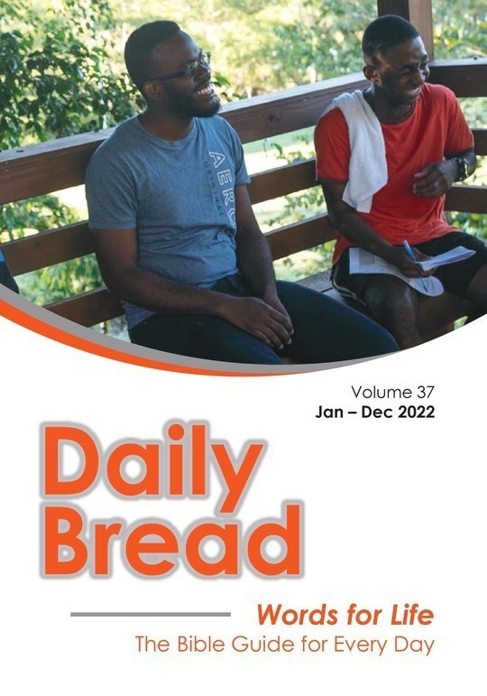 Daily Bread Volume 37 Jan-Dec 2022 | Words for Life The Bible Guide for Every Day